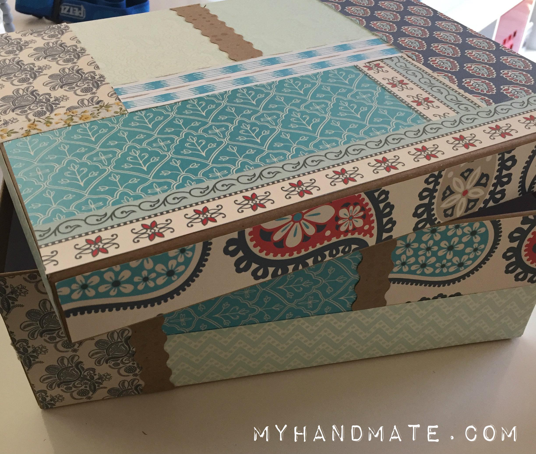 My hand mate el blog de las manualidades sencillas - Cajas de carton bonitas ...